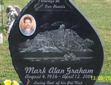 GRAHAM, MARK ALAN - Ross County, Ohio | MARK ALAN GRAHAM - Ohio Gravestone Photos