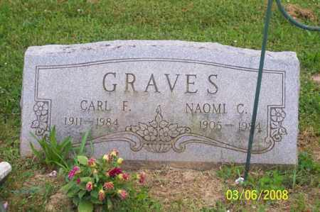 GRAVES, NAOMI C. - Ross County, Ohio | NAOMI C. GRAVES - Ohio Gravestone Photos