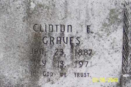 GRAVES, CLINTON F. - Ross County, Ohio | CLINTON F. GRAVES - Ohio Gravestone Photos