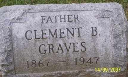 GRAVES, CLEMENT B. - Ross County, Ohio | CLEMENT B. GRAVES - Ohio Gravestone Photos