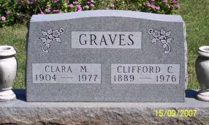 GRAVES, CLARA M. - Ross County, Ohio | CLARA M. GRAVES - Ohio Gravestone Photos