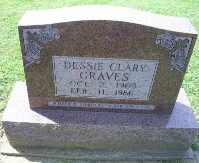 CLARY GRAVES, DESSIE - Ross County, Ohio | DESSIE CLARY GRAVES - Ohio Gravestone Photos