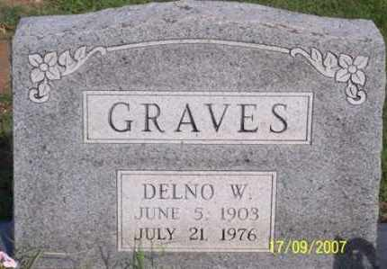 GRAVES, DELNO W. - Ross County, Ohio | DELNO W. GRAVES - Ohio Gravestone Photos