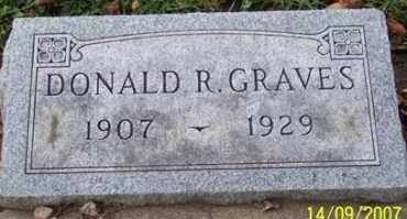 GRAVES, DONALD R. - Ross County, Ohio | DONALD R. GRAVES - Ohio Gravestone Photos
