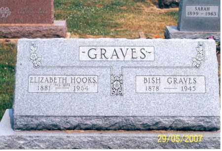 HOOKS GRAVES, ELIZABETH - Ross County, Ohio | ELIZABETH HOOKS GRAVES - Ohio Gravestone Photos