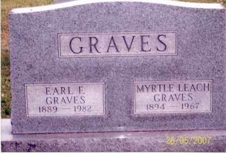 LEACH GRAVES, MYRTLE - Ross County, Ohio | MYRTLE LEACH GRAVES - Ohio Gravestone Photos