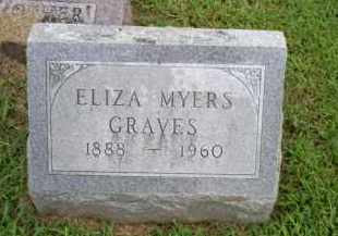 GRAVES, ELIZA - Ross County, Ohio | ELIZA GRAVES - Ohio Gravestone Photos