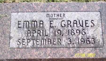 GRAVES, EMMA E. - Ross County, Ohio | EMMA E. GRAVES - Ohio Gravestone Photos