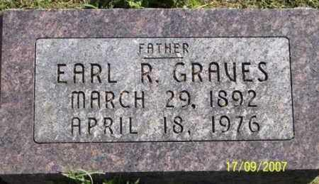 GRAVES, EARL R. - Ross County, Ohio | EARL R. GRAVES - Ohio Gravestone Photos