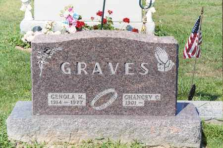 BURT GRAVES, GENOLA M - Ross County, Ohio | GENOLA M BURT GRAVES - Ohio Gravestone Photos