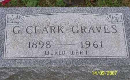 GRAVES, G. CLARK - Ross County, Ohio | G. CLARK GRAVES - Ohio Gravestone Photos