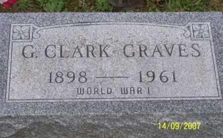 GRAVES, G. CLARK - Ross County, Ohio | G. CLARK GRAVES - Ohio Gravestone Photos