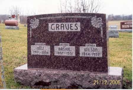 GRAVES, BASHIE - Ross County, Ohio | BASHIE GRAVES - Ohio Gravestone Photos