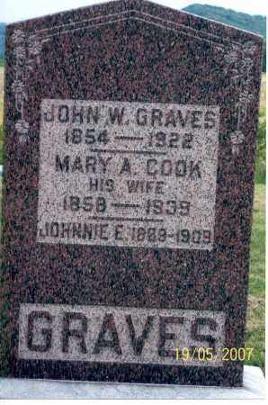 COOK GRAVES, MARY A. - Ross County, Ohio | MARY A. COOK GRAVES - Ohio Gravestone Photos