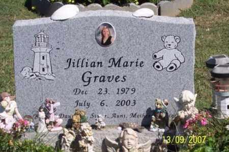 GRAVES, JILLIAN MARIE - Ross County, Ohio | JILLIAN MARIE GRAVES - Ohio Gravestone Photos