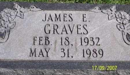 GRAVES, JAMES E. - Ross County, Ohio | JAMES E. GRAVES - Ohio Gravestone Photos