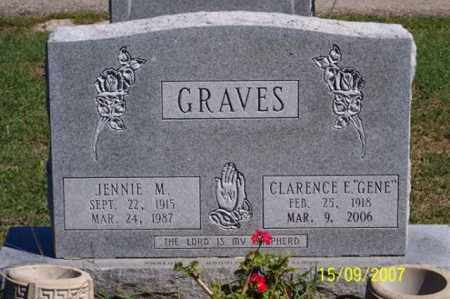 GRAVES, JENNIE M. - Ross County, Ohio | JENNIE M. GRAVES - Ohio Gravestone Photos