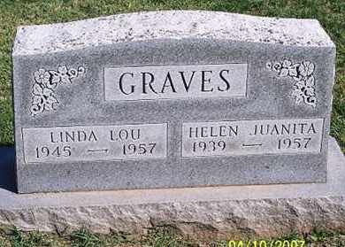 GRAVES, HELEN JUANITA - Ross County, Ohio | HELEN JUANITA GRAVES - Ohio Gravestone Photos