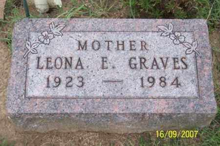 GRAVES, LEONA E. - Ross County, Ohio | LEONA E. GRAVES - Ohio Gravestone Photos
