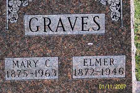 GRAVES, ELMER - Ross County, Ohio | ELMER GRAVES - Ohio Gravestone Photos