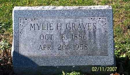 GRAVES, MYLIE H. - Ross County, Ohio | MYLIE H. GRAVES - Ohio Gravestone Photos