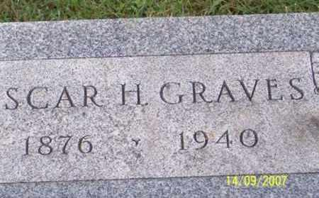 GRAVES, OSCAR H. - Ross County, Ohio | OSCAR H. GRAVES - Ohio Gravestone Photos