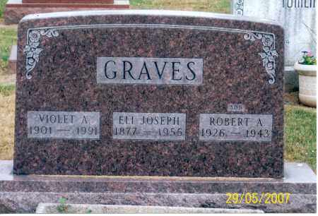 GRAVES, VIOLET A. - Ross County, Ohio | VIOLET A. GRAVES - Ohio Gravestone Photos
