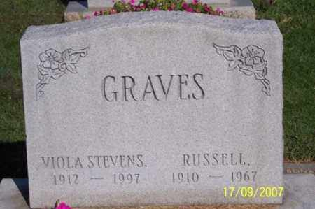 GRAVES, RUSSELL - Ross County, Ohio | RUSSELL GRAVES - Ohio Gravestone Photos