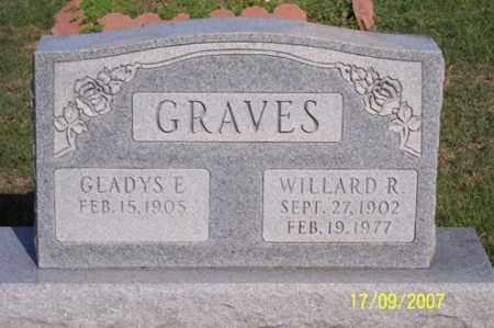 GRAVES, WILLARD R. - Ross County, Ohio | WILLARD R. GRAVES - Ohio Gravestone Photos