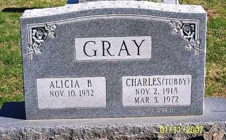"GRAY, CHARLES ""TUBBY"" - Ross County, Ohio 