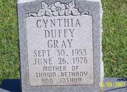 GRAY, CYNTHIA - Ross County, Ohio | CYNTHIA GRAY - Ohio Gravestone Photos