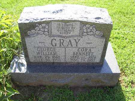 BENNETT GRAY, CORA - Ross County, Ohio | CORA BENNETT GRAY - Ohio Gravestone Photos