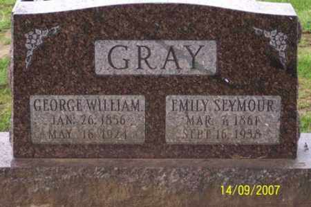 GRAY, EMILY - Ross County, Ohio | EMILY GRAY - Ohio Gravestone Photos