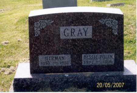 GRAY, HERMAN - Ross County, Ohio | HERMAN GRAY - Ohio Gravestone Photos