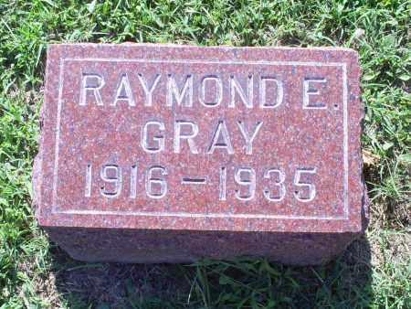 GRAY, RAYMOND E. - Ross County, Ohio | RAYMOND E. GRAY - Ohio Gravestone Photos