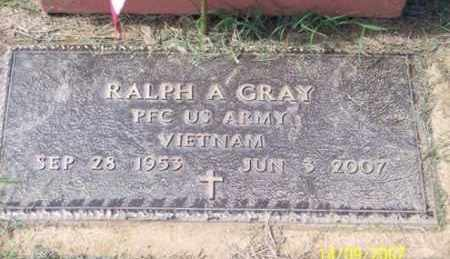 GRAY, RALPH A. - Ross County, Ohio | RALPH A. GRAY - Ohio Gravestone Photos