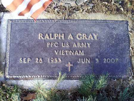 GRAY, RALPH A. - Ross County, Ohio | RALPH A. GRAY - Ohio Gravestone Photos