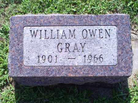 GRAY, WILLIAM OWEN - Ross County, Ohio | WILLIAM OWEN GRAY - Ohio Gravestone Photos