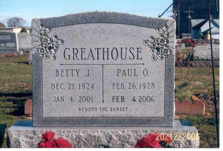 GREATHOUSE, PAUL O. - Ross County, Ohio | PAUL O. GREATHOUSE - Ohio Gravestone Photos