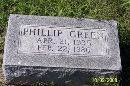 GREEN, PHILLIP - Ross County, Ohio | PHILLIP GREEN - Ohio Gravestone Photos