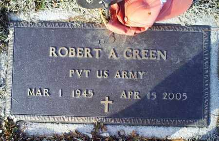 GREEN, ROBERT A. - Ross County, Ohio | ROBERT A. GREEN - Ohio Gravestone Photos