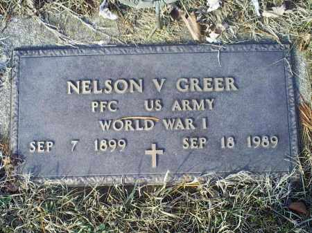 GREER, NELSON V. - Ross County, Ohio | NELSON V. GREER - Ohio Gravestone Photos
