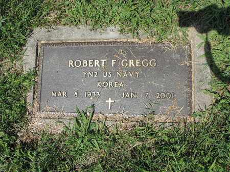 GREGG, ROBERT F. - Ross County, Ohio | ROBERT F. GREGG - Ohio Gravestone Photos