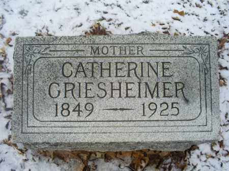 GRIESHEIMER, CATHERINE - Ross County, Ohio | CATHERINE GRIESHEIMER - Ohio Gravestone Photos