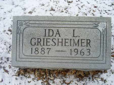 GRIESHEIMER, IDA L. - Ross County, Ohio | IDA L. GRIESHEIMER - Ohio Gravestone Photos