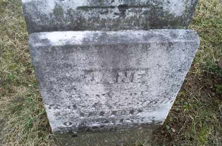 GRIFFITH, JANE - Ross County, Ohio | JANE GRIFFITH - Ohio Gravestone Photos
