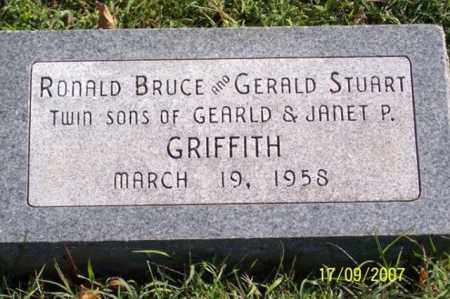 GRIFFITH, RONALD BRUCE - Ross County, Ohio | RONALD BRUCE GRIFFITH - Ohio Gravestone Photos