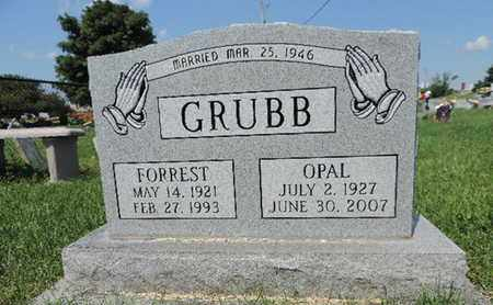 GRUBB, FORREST - Ross County, Ohio | FORREST GRUBB - Ohio Gravestone Photos