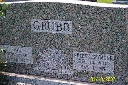 GRUBB, RAY - Ross County, Ohio | RAY GRUBB - Ohio Gravestone Photos
