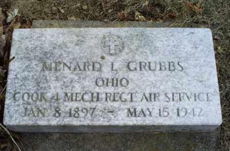 GRUBBS, MENARD L. - Ross County, Ohio | MENARD L. GRUBBS - Ohio Gravestone Photos